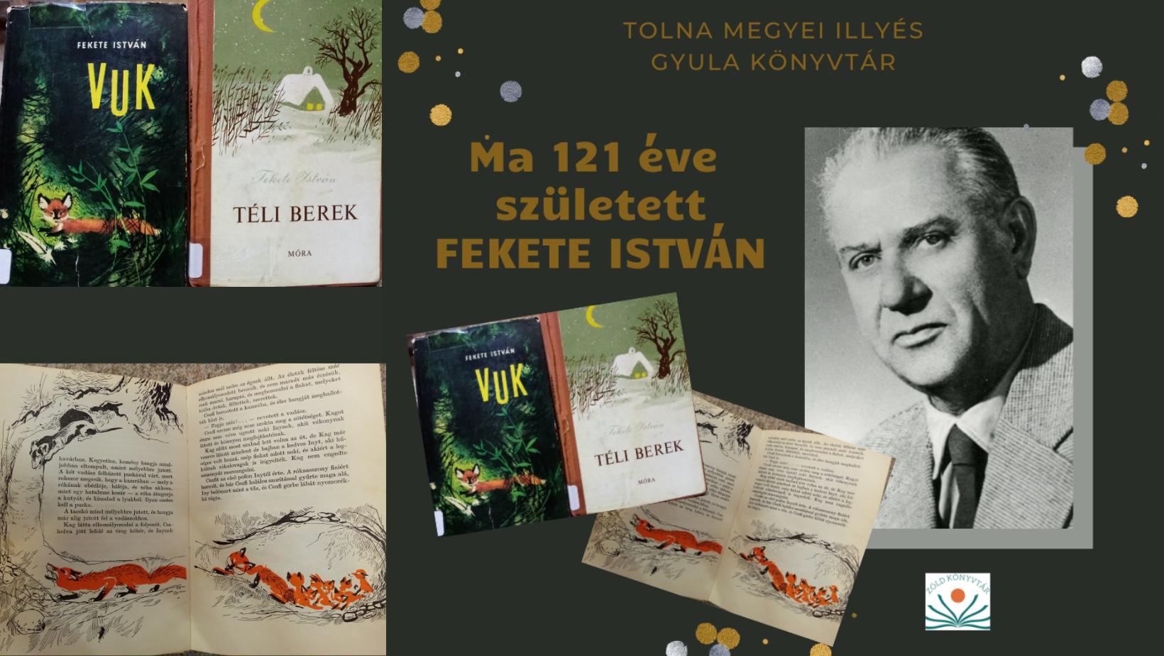121 éve született Fekete István