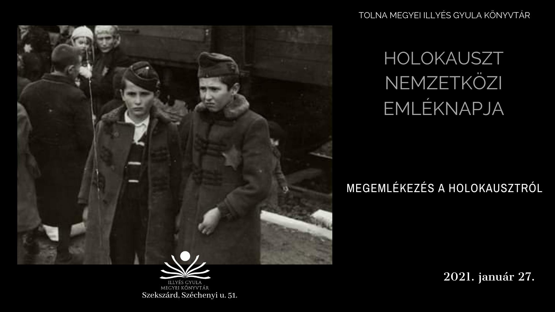 Holokauszt Nemzetközi Emléknap
